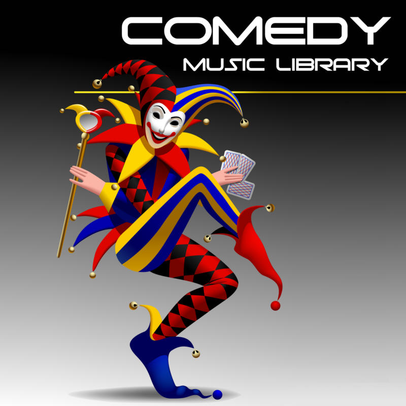 comedy music library, comedy music, funny music, slapstick music, humor music, novelty music, gag music, comedy music licensing, license comedy music