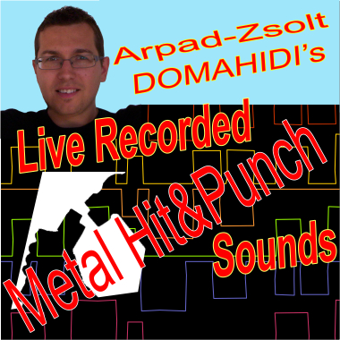 Live Recorded Metal Hit & Punch Sounds