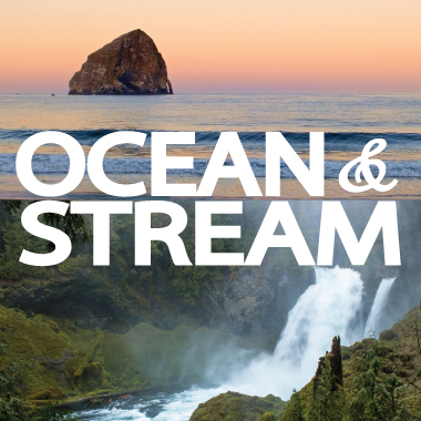 Ocean, River, and Stream
